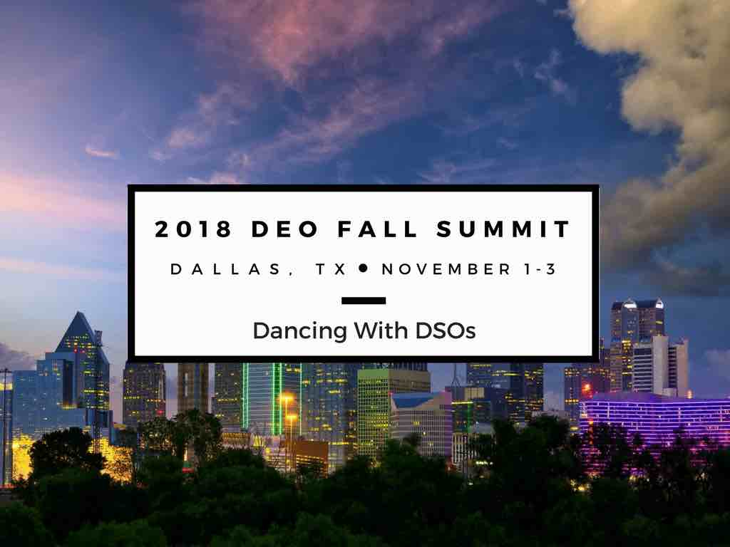 2018 DEO Fall Summit Dancing with DSOs