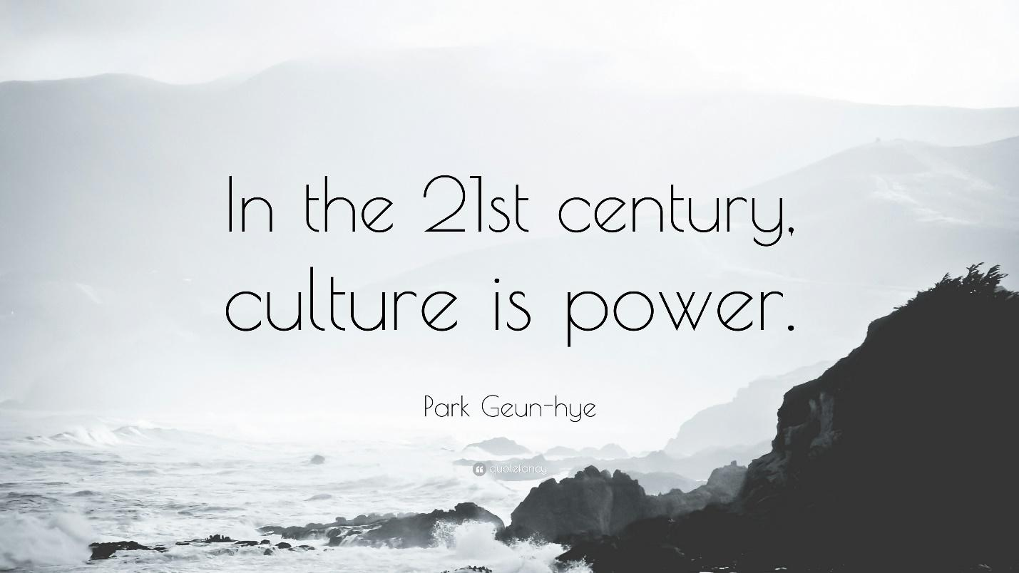 Culture is Power